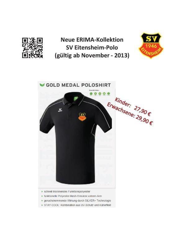 Erima Polo 2013-11 neu