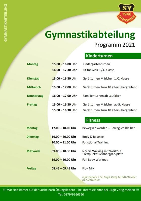 Gymnastikabeitlung2021